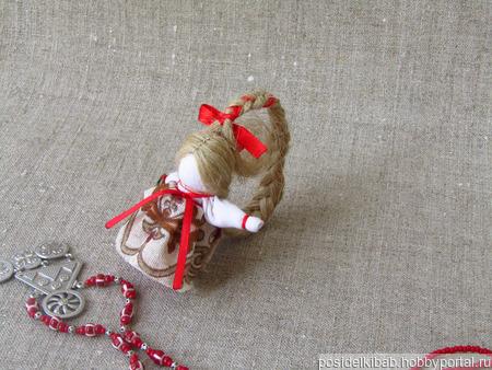 Куколка на счастье ручной работы на заказ