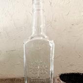 "Бутылка с гранями прозрачное стекло ""Дерево"""