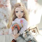 Кукла текстильная Мари
