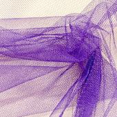 Фатин мягкий цвет сине-лиловый