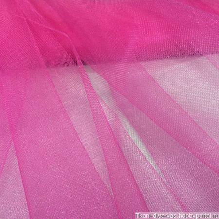 Фатин мягкий цвет фуксия ручной работы на заказ