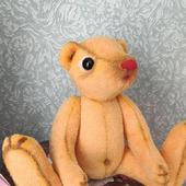 Мишки Тедди: мишка-арленик Тимошка