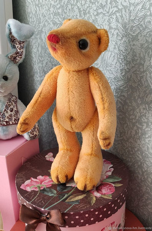 Мишки Тедди: мишка-арленик Тимошка ручной работы на заказ