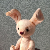 Плюшевая зайка - Маришка