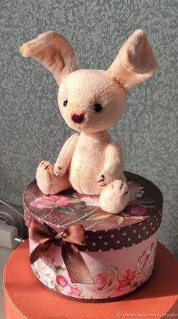 Плюшевая зайка - Маришка ручной работы на заказ