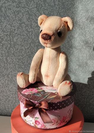 Мишки Тедди: лунный медведь - Витор ручной работы на заказ