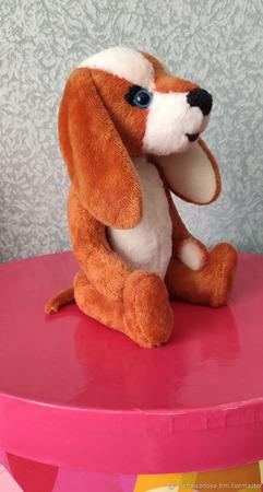 Тедди Зверята: Верный друг, пес - Ерофей ручной работы на заказ