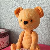 Тедди Зверята: Рыжий котик Елисей