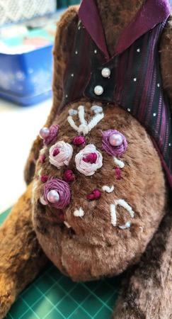 Винтажный заяц Брауни ручной работы на заказ