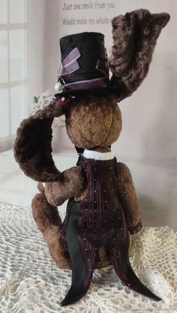 Мастер-класс: Винтажный заяц Брауни ручной работы на заказ