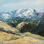 """Картина """"В горах"""""""
