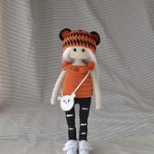 Мастер класс по вязанию куклы в костюме тигра крючком