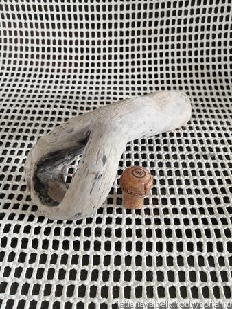 """Арт-объект """"Лупа"""" дерево морское дрифтвуд ручной работы на заказ"""