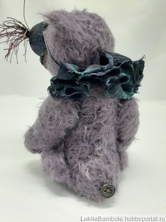 Мишка-малышка Ежевичка ручной работы на заказ