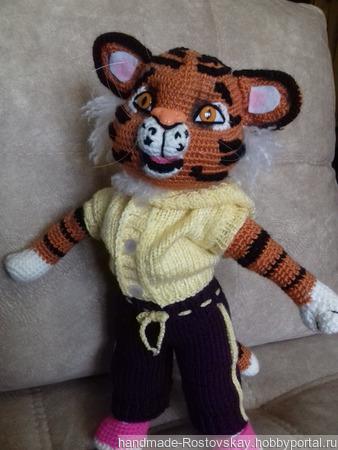 Тигр Герман ручной работы на заказ
