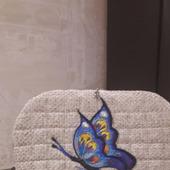 """Рюкзак женский с вышивкой аппликацией """"Бабочка"""""""