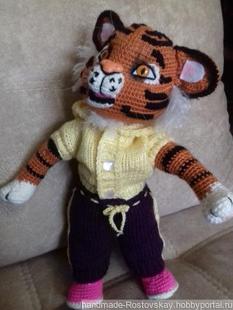 МК тигр Герман ручной работы на заказ