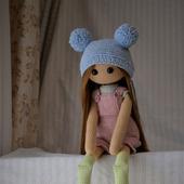 фото: вязаная кукла