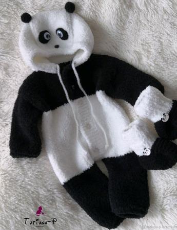 Вязаный комплект для малыша ручной работы на заказ