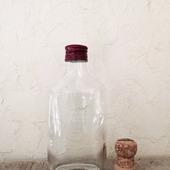 Бутылка маленькая плоская с крышкой 250 мл