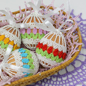 Чехол, мешочек для пасхального яйца