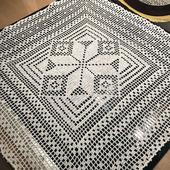 Салфетка белая, 54х56см, хлопок