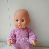 Комбинезон для пупса или куклы