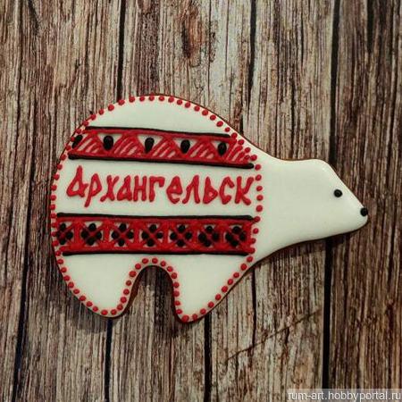 Пряник Козуля Архангельская Традиционная ручной работы на заказ