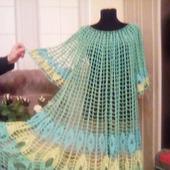 Платье перо жар птицы