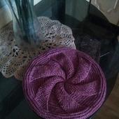 Осенняя шапка-берет