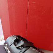 ИМЕННАЯ дорожная спортивная кожаная сумка