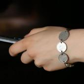Браслет-цепочка с монетами «Дорама»