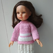 Кофта и юбка для Паола Рейна