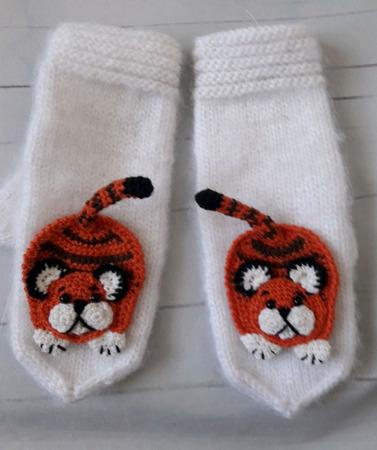 Тигр-символ 2022 года ручной работы на заказ