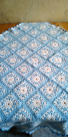 Плед-одеяло детское ручной работы на заказ