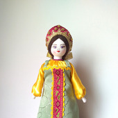 """Кукла """"Настенька"""" в русском народном костюме"""