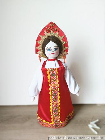 """Кукла """"Марьюшка"""" в русском костюме ручной работы на заказ"""