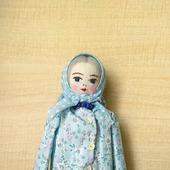 """Кукла """"Полина с сумкой"""""""