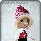 Интерьерная кукла Буратино
