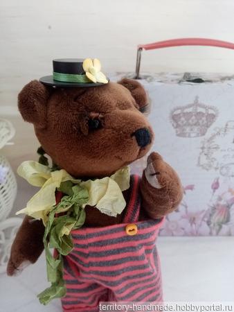 Медвежонок Тепа ручной работы на заказ