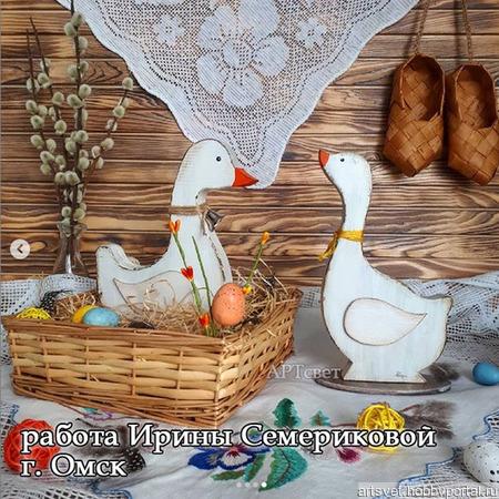 009 Гусь. Заготовки для декупажа и росписи ручной работы на заказ