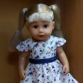 Платье для куклы 45 см