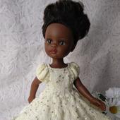 Одежда для кукол Паола Рейна. Платье.