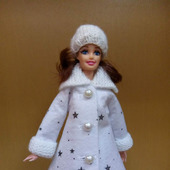 Пальто куклы для Барби