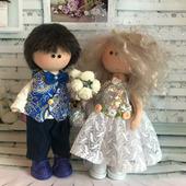 Куклы интерьерные Жених и Невеста
