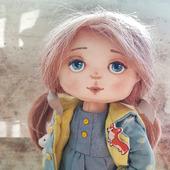 Текстильная кукла Алина