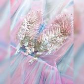 Вечернее платье «Розовый лёд»