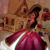 Светильник - кукла ручной работы