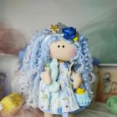 Текстильная кукла Русалка