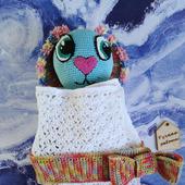 Амигуруми куклы и игрушки: Заяц в пеленке